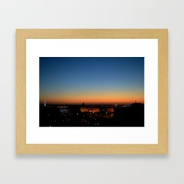 Liverpool Sunset Framed Art Print