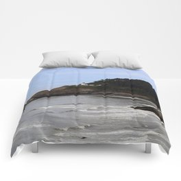 Heceta Head Lighthouse Comforters