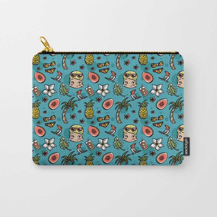Hawaii Dreaming - Blue Carry-All Pouch