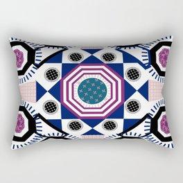 Mixed Emotions Mandala Rectangular Pillow