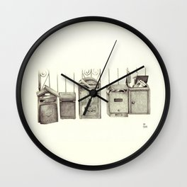 Delivery Options Wall Clock