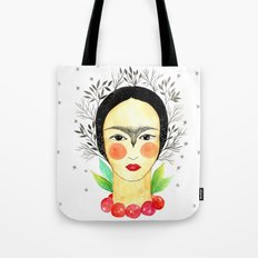 Frida Kahlo: my tribute Tote Bag