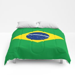 Flag of Brazil - Hi Quality Authentic version Comforters