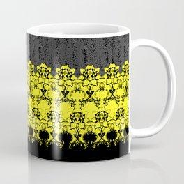 Damask Floral Texture Coffee Mug