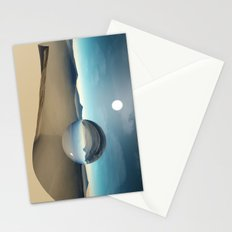 desert sphere void Stationery Cards