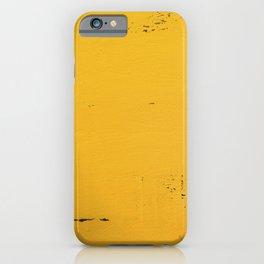 Vintage Yellow Wood iPhone Case