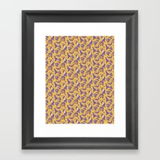 Yellow dreams Framed Art Print