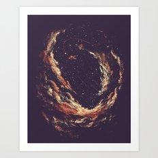 Cosmic Smoke II Art Print