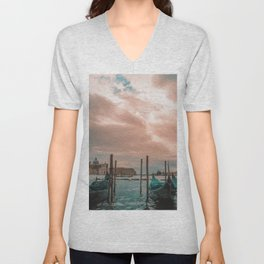 Gondola Parking Unisex V-Neck