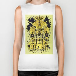 yellow fever Biker Tank