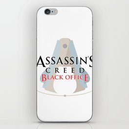 Assassin's Creed Black Office iPhone Skin
