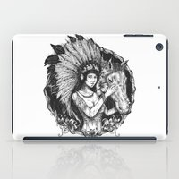 indiana iPad Cases featuring indiana by ridwanafid