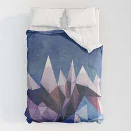 Winter Mountains Comforters