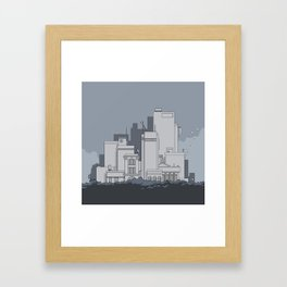 City #5 Framed Art Print