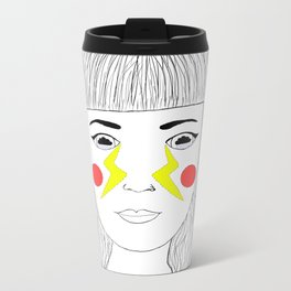 Crying Lightning by Arctic Monkeys inspired Metal Travel Mug