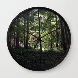 Rushemere Country Park, Bedfordshire UK Wall Clock