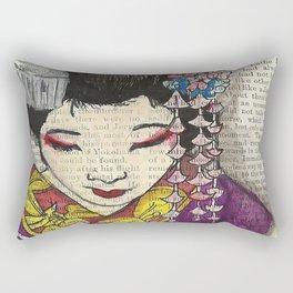 Our Lady of Edo  Rectangular Pillow