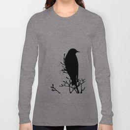 Perched Bird Long Sleeve T-shirt
