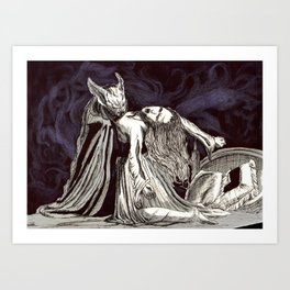 The love of the duchess #society6 Art Print