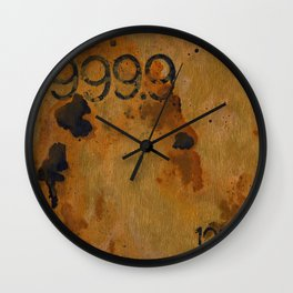 Numeric Values: Gold Standard Wall Clock