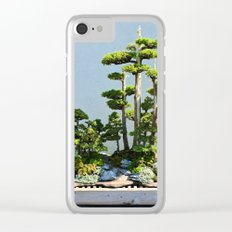 Forest Island Clear iPhone Case