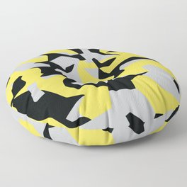 Search products, artworks and themes Yellow CAMO, Keep your stuff hidden in plain sight! Floor Pillow