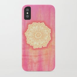 pink is s000 in.  iPhone Case