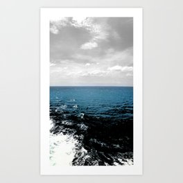 Faded Skies Art Print