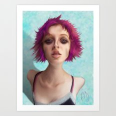 I don't like the drugs.... Art Print