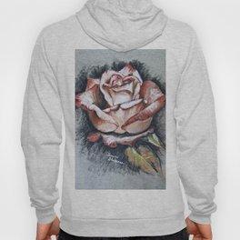 "Drawing ""Contrasting Rose"" Hoody"