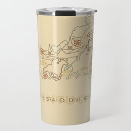 Kentucky State Lines Travel Mug