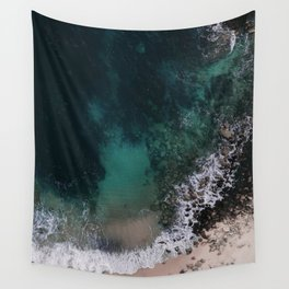 ocean blues Wall Tapestry