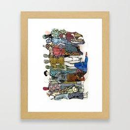Breezy Beach Framed Art Print