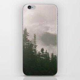 Foggy Forest (Squamish, British Columbia, Canada) iPhone Skin