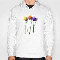 tulip Hoodies featuring Tulip by Det Tidkun