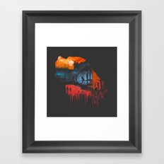 Reminiscing the Past Framed Art Print