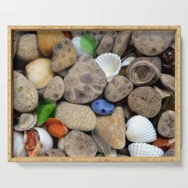 Petoskey Stones lll Serving Tray