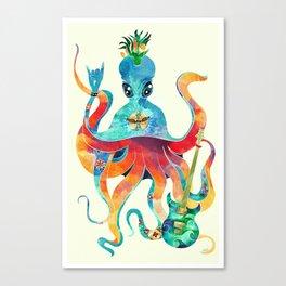 Rocktopus Canvas Print