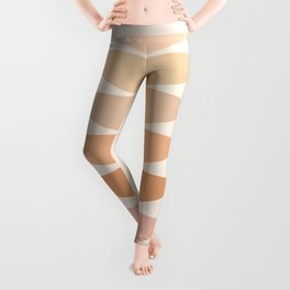 Geometric Shapes in Pastel Shades 2 Leggings