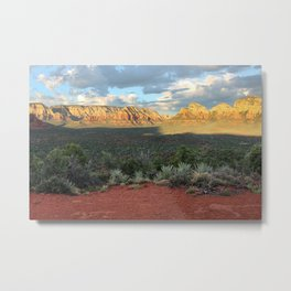 Sedona Red Rocks Vortex - Arizona Metal Print