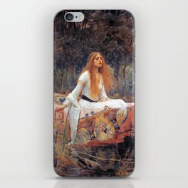 John William Waterhouse The Lady of Shalott iPhone Skin