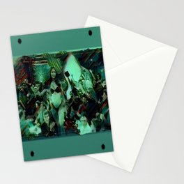 Peep Show Ghouls Stationery Cards