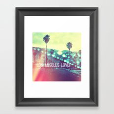 LA Lover Framed Art Print