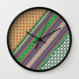 Plaid Design Modern QF Wall Clock