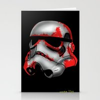 storm trooper Stationery Cards featuring Storm Trooper by Art of Fernie