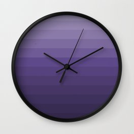 Ultra Violet - Family Color (Fourteen brothers) Wall Clock