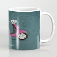 honda Mugs featuring Honda Shadow by Floris Voorveld