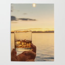 Cheers to the Sea Poster