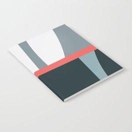 Organic Geometric 01 Blue Notebook