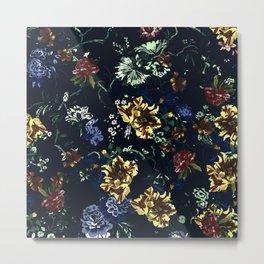 Botanical Dark Garden Metal Print
